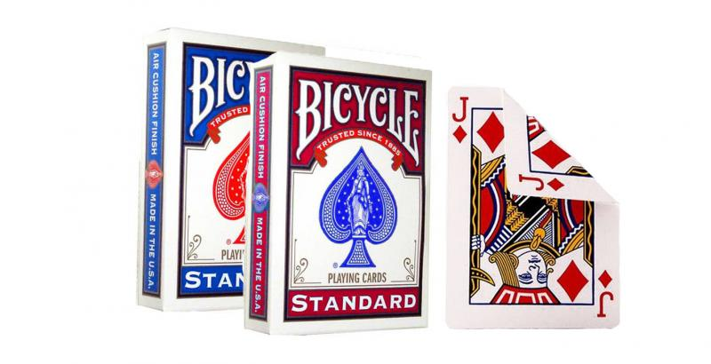 "картинка Карты ""Bicycle DouBle Face (Best Seller) red/blue"" от магазина Gamesdealer.ru"