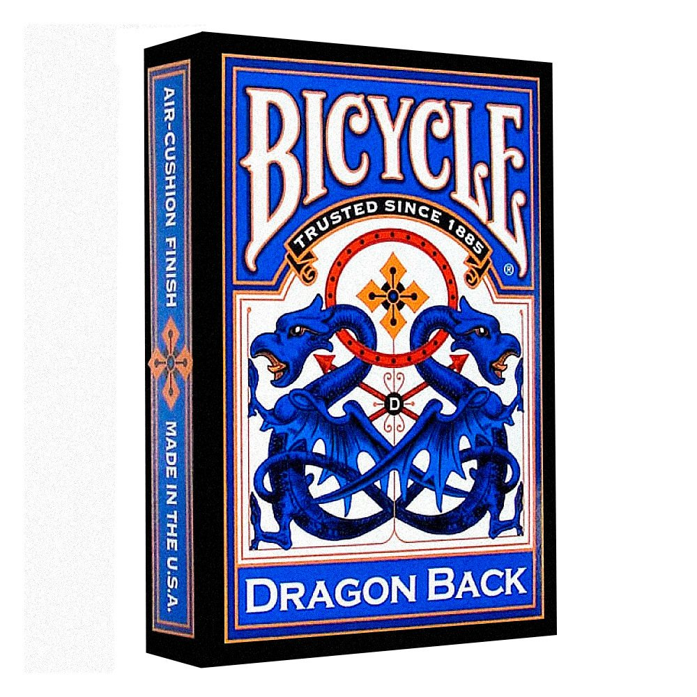 "картинка Карты ""Bicycle Dragon Blue"" от магазина Gamesdealer.ru"